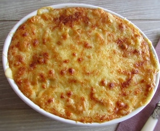Massa com atum gratinada no forno | Food From Portugal
