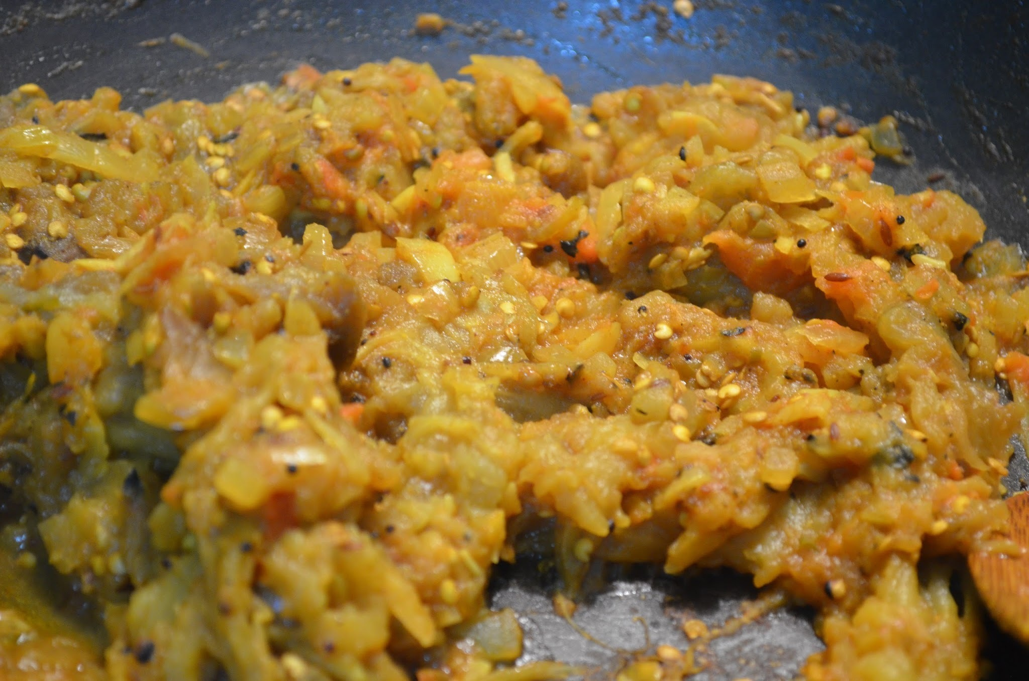 Baingan Bharta (Mashed Roasted Eggplant)