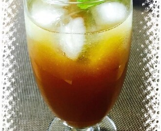 Fig Iced Tea | Healthier Sweetness