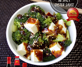 Tofu Broccoli in Spicy Oyster Sauce Recipe