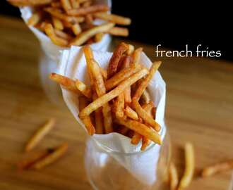french fries recipe | crispy potato finger chips recipe