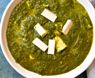 20 minutes Palak paneer- No onion garlic recipe