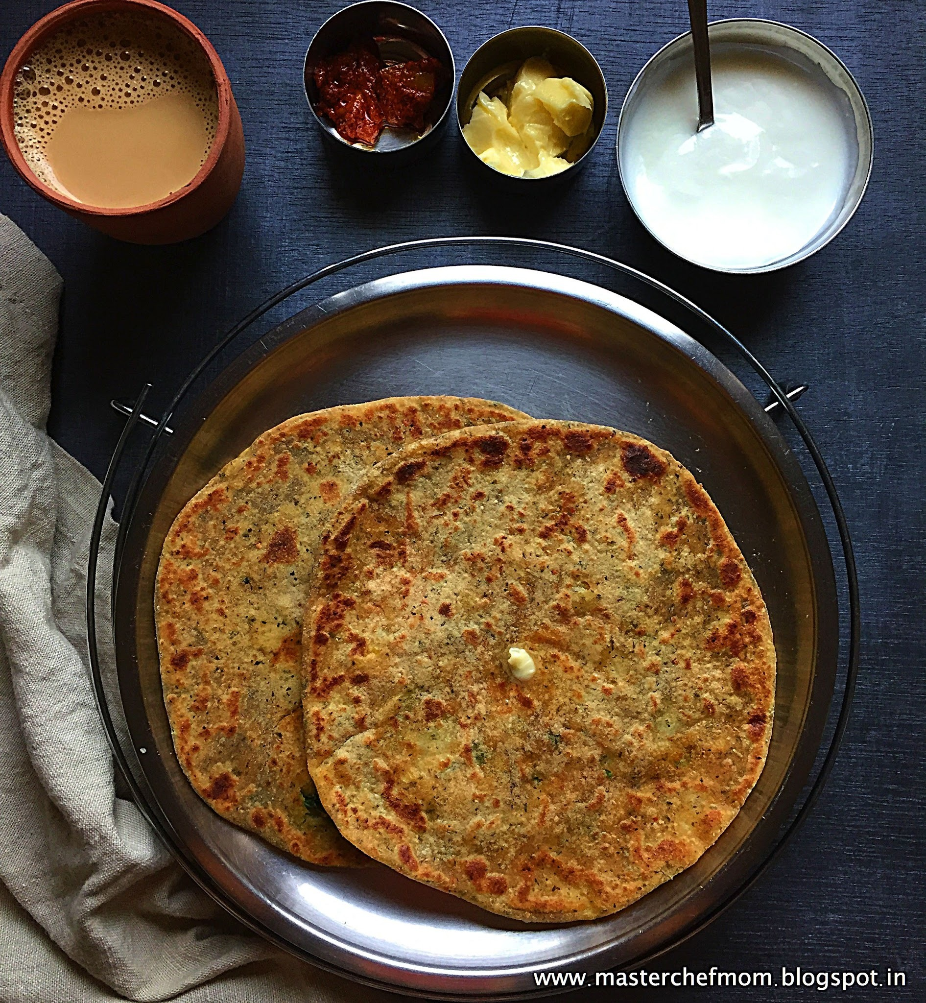 Aloo Paratha | Potato Paratha | Punjabi Special Breakfast Recipe | Breakfast Recipes by Masterchefmom
