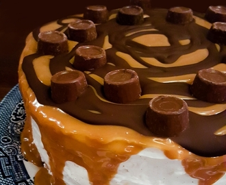 The Ultimate Rolo Cheesecake