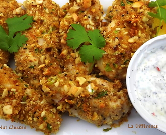 Cashew Nut Chicken Fillets (Oven Baked)