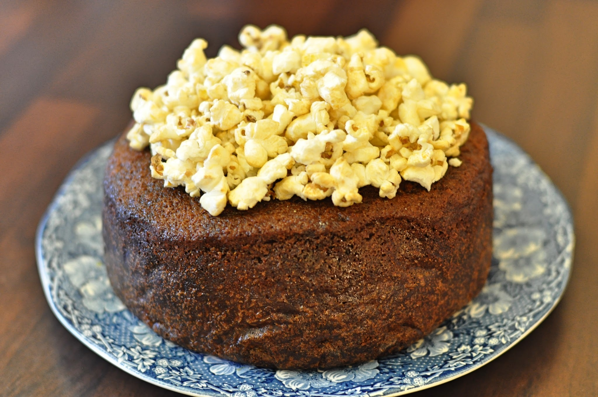 Ginger & Golden Syrup Bonfire Cake