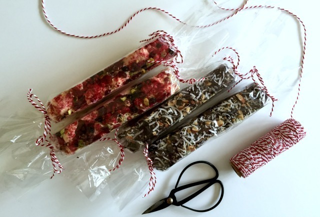 CHRISTMAS ROCKY ROAD TWO WAYS