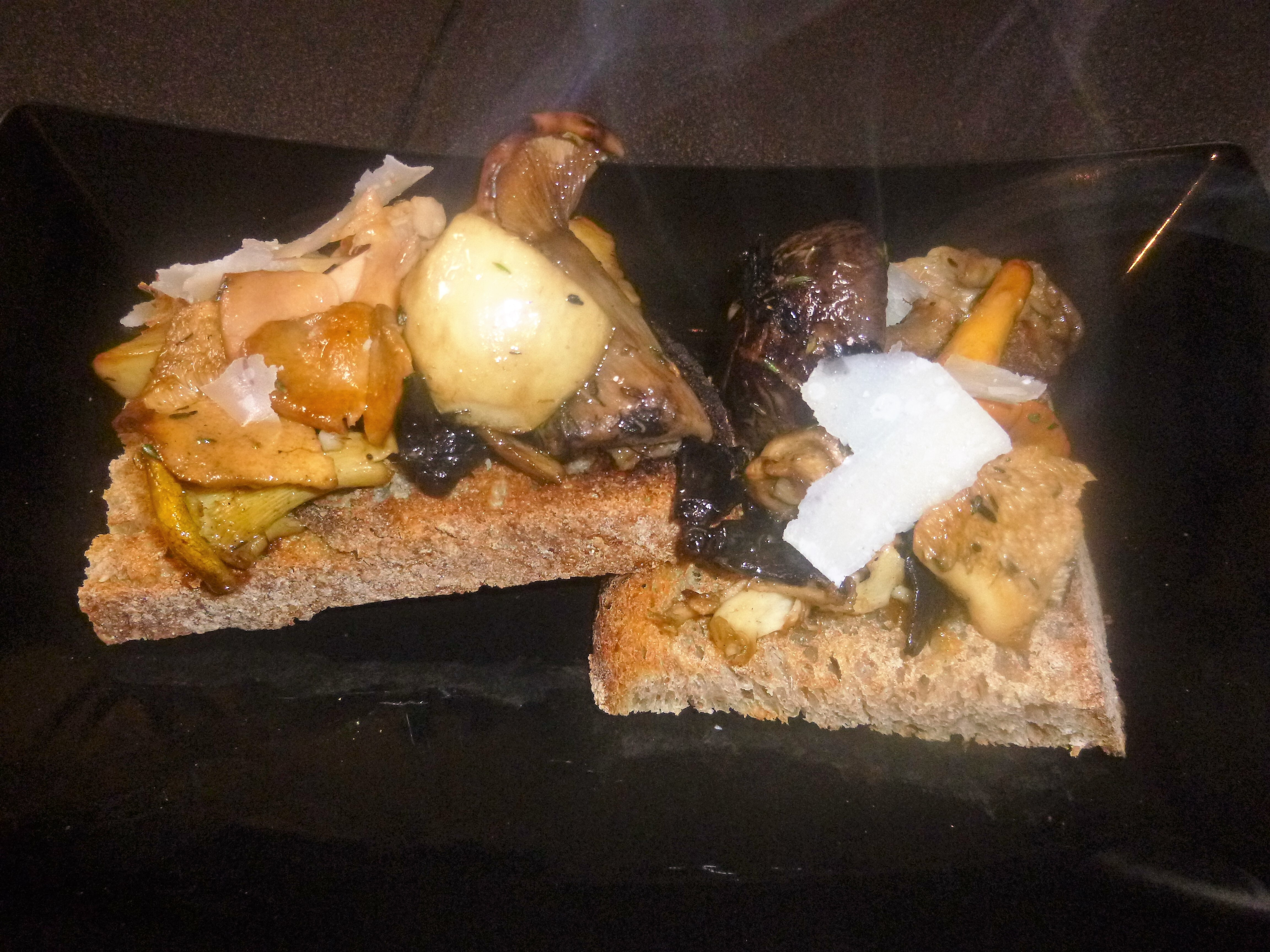 Garlic and Thyme Wild Mushrooms on Sourdough Toast Recipe