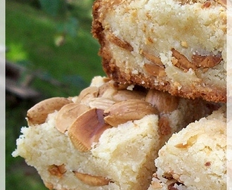Almond Cookie Bars
