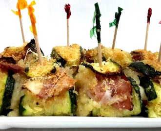 INVOLTINI DI ZUCCHINI FAST AND EASY!!!!