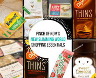 New Slimming World Shopping Essentials – 24/2/17