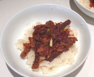 Recipe: Quick and easy crispy Chinese beef