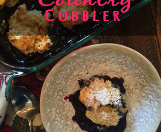 Blueberry Country Cobbler