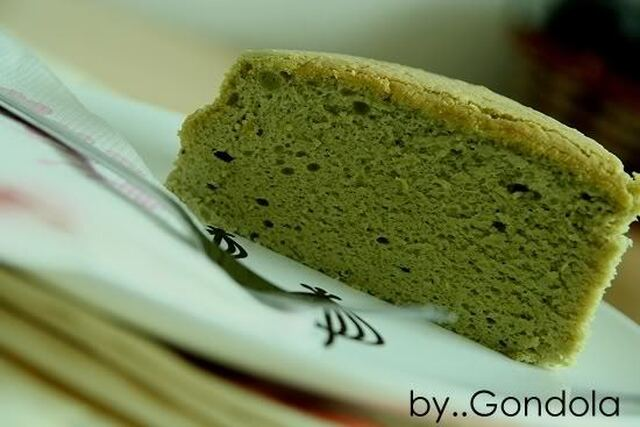 Green Tea Cotton Cheesecake