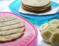 Banana and Coconut Pancakes – Stage 2 Finger Food