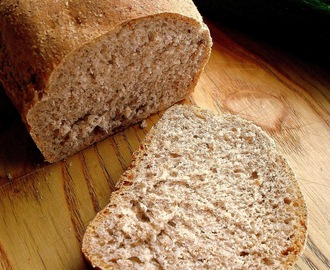 Prosty chleb razowy / Simple Whole Wheat Bread