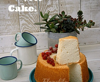 Angel Food Cake, paso a paso.