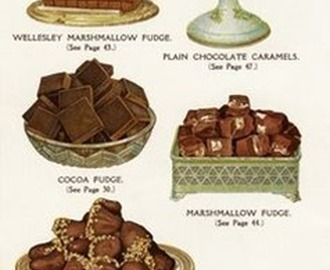 Old Fashioned Chocolate Fudge / Gammeldags Amerikansk Sjokoladefudge