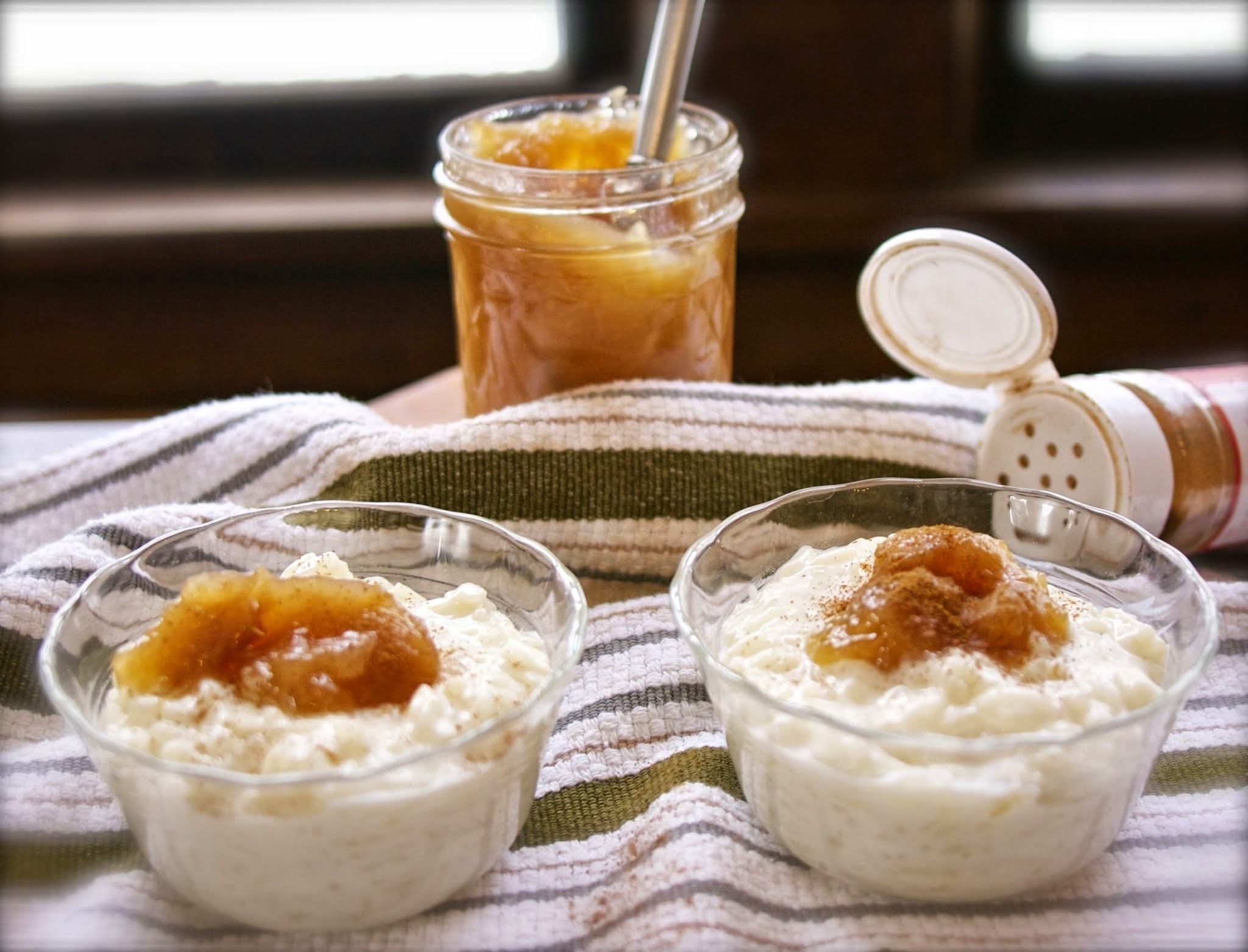 Arborio Rice Pudding #French Fridays with Dorie: Rice Pudding & Caramel Apples
