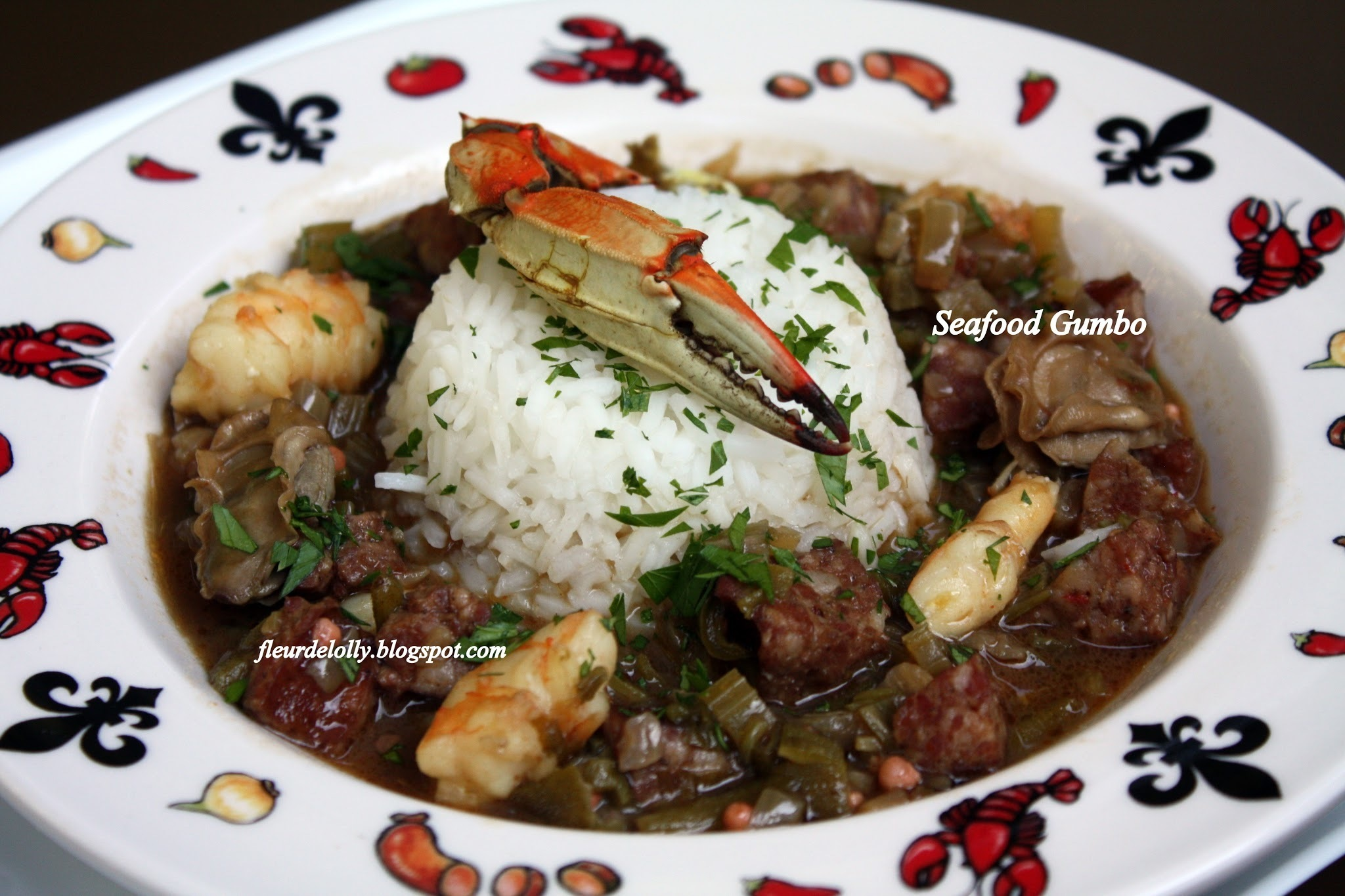 Seafood (and Sausage) Gumbo