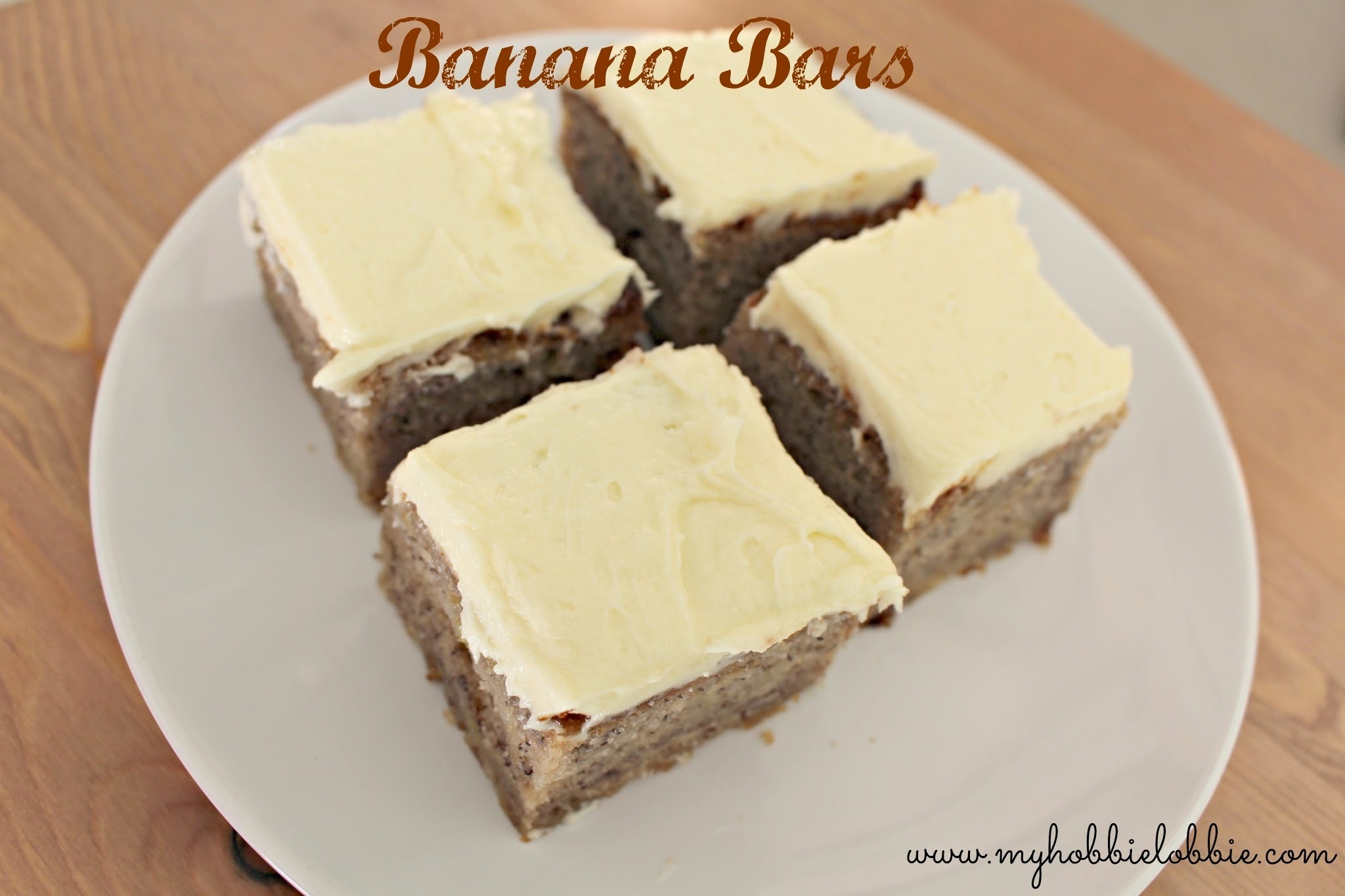 SRC: Banana Bars with Cream Cheese Frosting