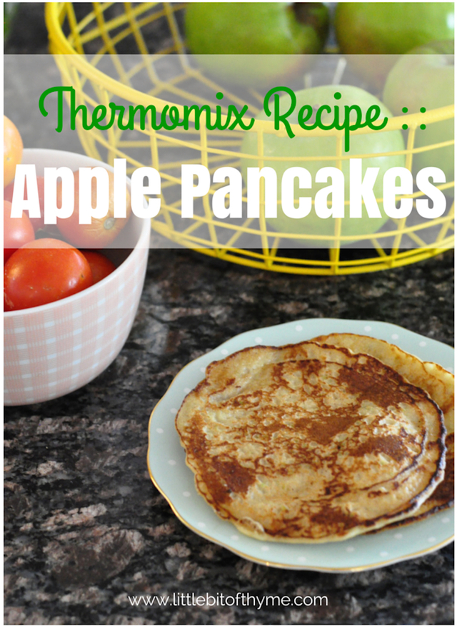 Recipe :: Thermomix Apple Pancakes