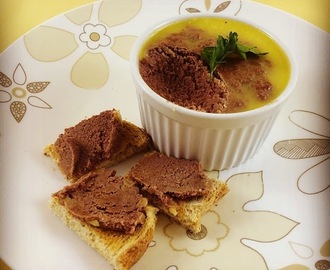 Chicken liver pate ... in the Thermomix