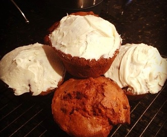 Awesome carrot cake muffins ... in the Thermomix