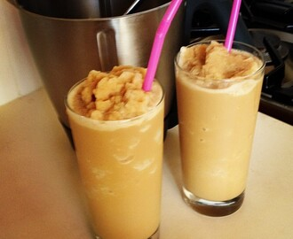 Caramel iced coffee slushee ... in the Thermomix