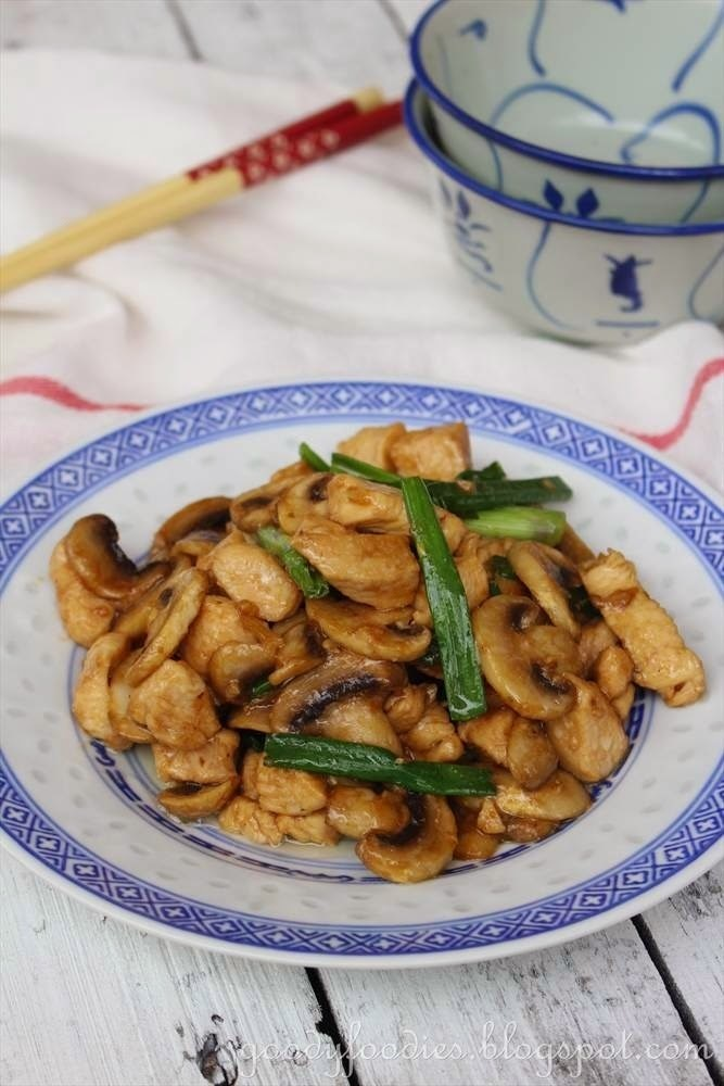 Recipe: Chinese Takeaway Chicken with Mushrooms