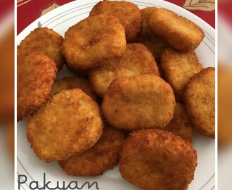 NUGGETS  DE  POLLO (THERMOMIX)