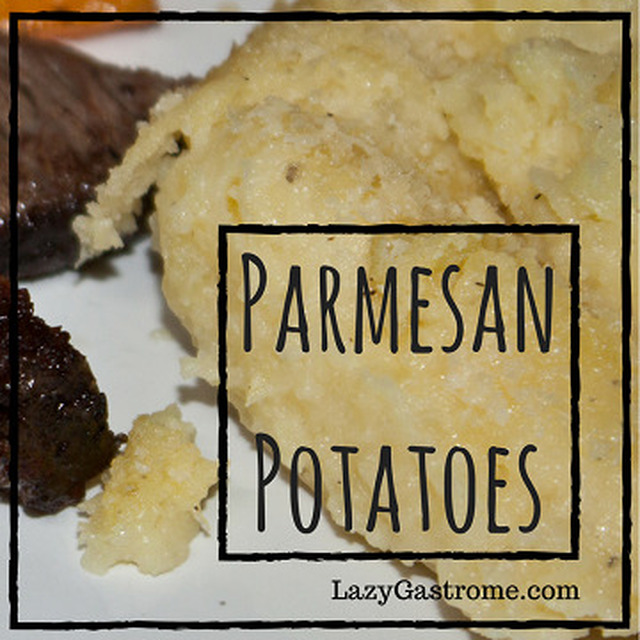 Parmesan Potatoes – Baked and Mashed to Goodness!