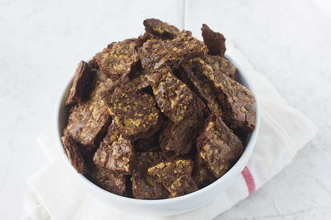 Toffee Brownie Crisps
