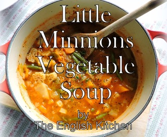 Little Minions Vegetable Soup