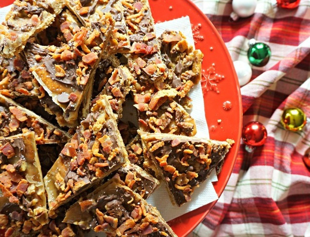 Comment on Salted Caramel Bacon Toffee + Win Bacon for a Year! by carol clark
