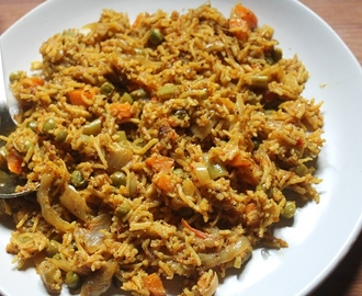 Mangalorean Style Vegetable Biryani Recipe