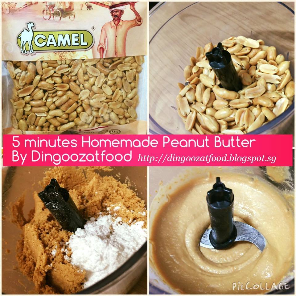 Easy Homemade Peanut Butter 简易自制花生酱