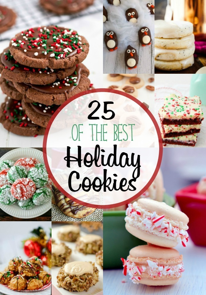 25 Best Holiday Cookies!