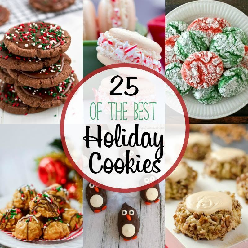 25 of the Best Holiday Cookies + $400 Cash Giveaway