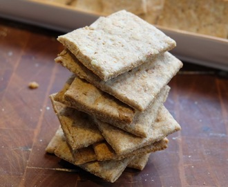 Wholegrain Almond and Pumpkin Seed Crackers