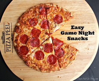Easy Game Night Snacks