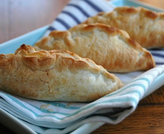 Mini beef and vegetable pasties