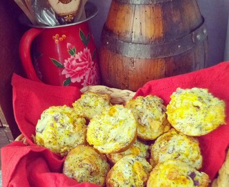 Sunday Brunch - Pumpkin & Feta Muffins