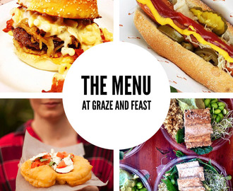 Graze and Feast – The Menu