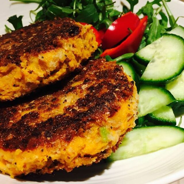 Gluten Free Sweet Potato and Tuna Patties