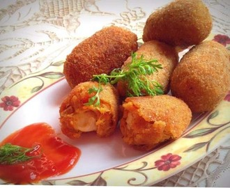 How to Make Spicy Chicken and Cheese Croquettes