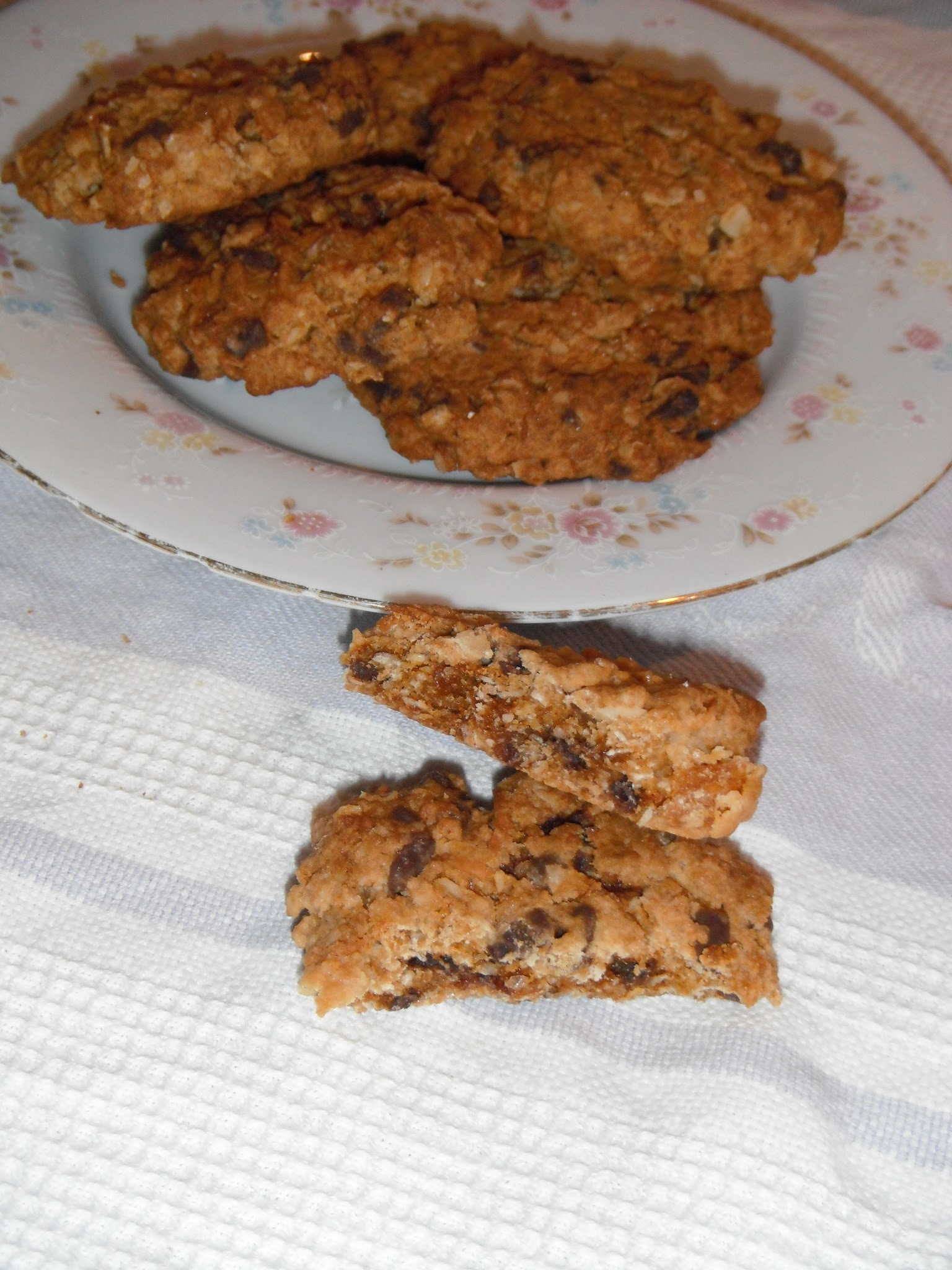 Chocolate Anzac Biscuits