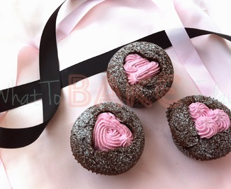 Sweet Heart Cupcakes (Valentine's Day)