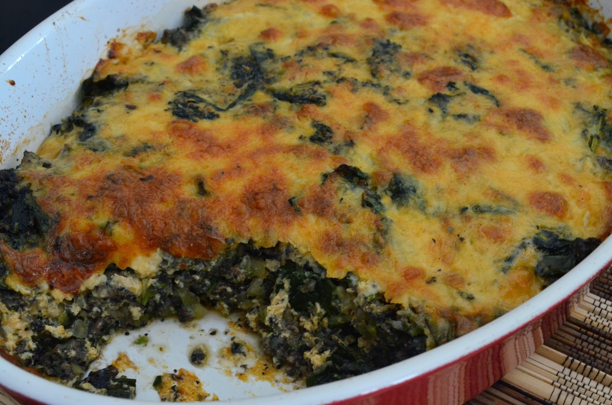 Cheesy vege bake