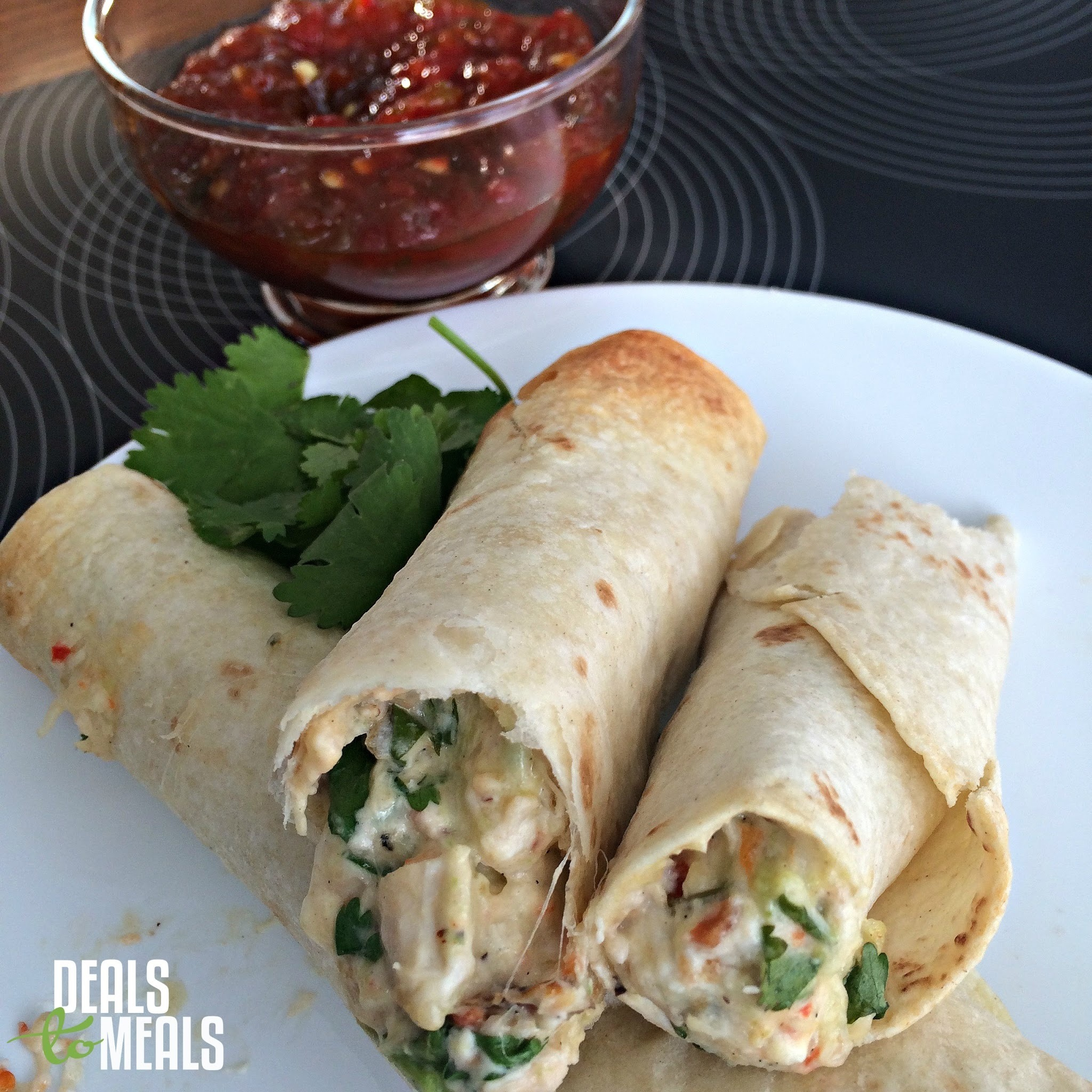 Sweet Asian Cheesy Chicken Taquitos {Simple Meal under $10}